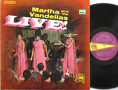 MARTHA REEVES AND THE VANDELLAS LP, Live! (GORDY US Issue) • 18.90£
