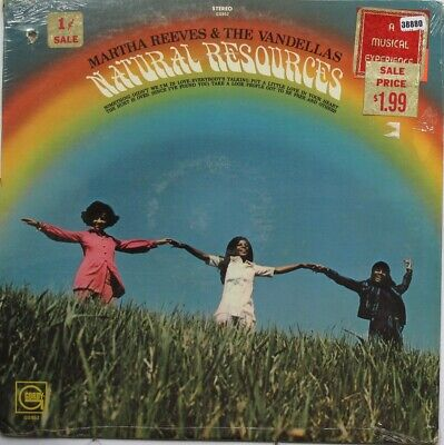 MARTHA REEVES AND THE VANDELLAS LP, Natural Resources (GORDY US Issue) • 25.90£