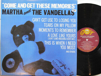 MARTHA & THE VANDELLAS LP, Come And Get These Memories (GORDY US Issue) • 23.90£