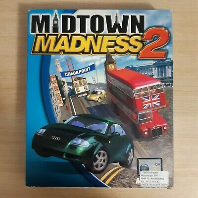 Midtown Madness 2 - Big Box PC Game - Complete In Box • 29.99£