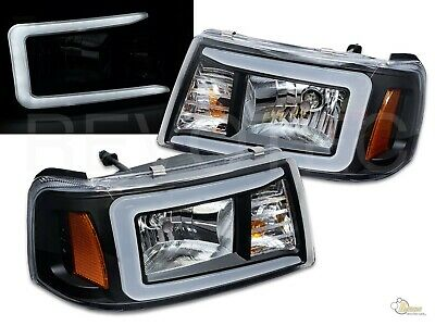 $219 • Buy Black C-Bar Headlights For 2001-2011 Ford Ranger RH + LH