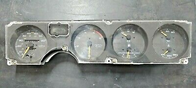 $59.87 • Buy 1985-1992 Formula Firebird Trans Am GTA Instrument Gauge Cluster ZGC 5.0 5.7 V8