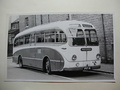 ENG558 - POTTERIES MOTOR TRACTION Co - BUS NoC516 PHOTO • 4.99£