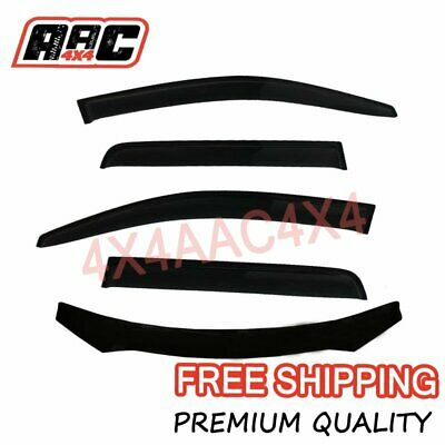AU98.80 • Buy Bonnet Protector & Weathershields Window Visors For Mitsubishi Outlander 2009-12