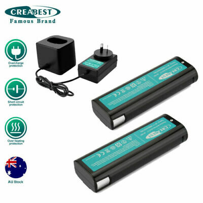 AU25.89 • Buy 2Pcs 6V 3.5AH Ni-MH Battery & Charger For Paslode 404717 900400 900420 900600