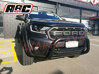 AU265 • Buy Black Nudge Bar For Ford Ranger 2012-2019 PX PXII PXIII