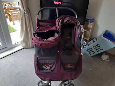 Baby Jogger City Mini Double Pushchair - Purple  • 110£