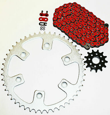 $74.81 • Buy 2004-2014 Honda CRF450R 450 R Red O Ring Chain And Sprocket 13/53 116L