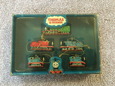 Thomas And Friends Christmas Tree Decorations Boxed - Rare • 29.99£