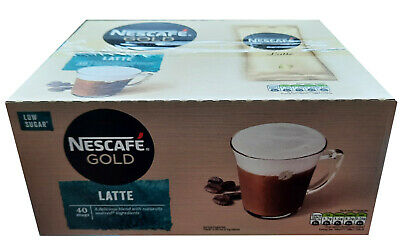Nescafe Gold Latte 40 One Cup Sachets Boxed • 17.95£