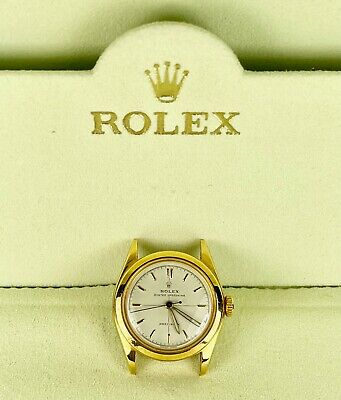 $ CDN3011.58 • Buy Vintage Rolex Precision Oyster Perpetual 29mm Gold Shell Ladies Watch Ref 6020