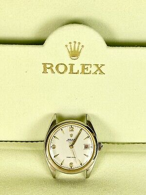 $ CDN2776.46 • Buy Vintage Rolex Oyster Date Precision 34mm Watch SS Reference 6094