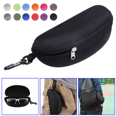 AU9.18 • Buy 1Pcs Sunglasses Hard Case Eye Glasses Protector Zip Up Portable Container Box AU