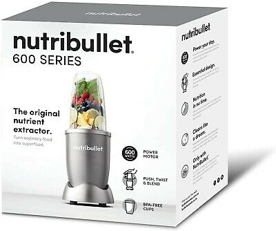 AU87 • Buy NEW NUTRIBULLET NBR-0507LG 600W 5 Piece Set