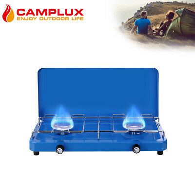 AU59 • Buy Camplux 2 Burner Stove Cooker Propane Bbq Gas Camping Stove For Outdoor Use