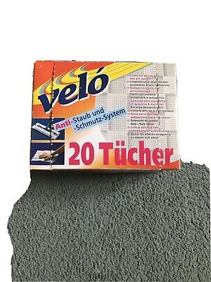 Swiffer Velo Cloths For Anti-dust And Dirt System 16 Floor Dusters • 7£