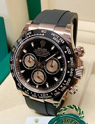 $ CDN51944.92 • Buy Rolex Daytona 116515LN Rose Gold 40mm Oysterflex 2020 With Papers UNWORN