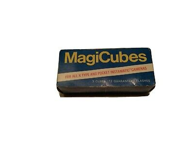 $10.95 • Buy Magic Cubes General Electric Vintage Flash Cubes