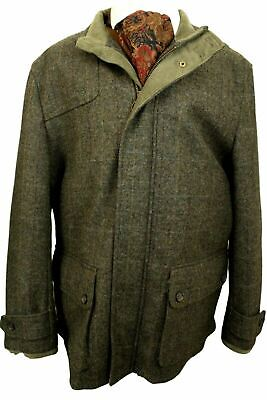 Yorkshire Tweed M&s Shooting Field Coat Size Xxl Chest 46  • 89.99£