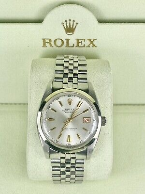 $ CDN4870.98 • Buy Vintage Rolex Datejust Unisex 36mm Watch Stainless Steel Reference 6305