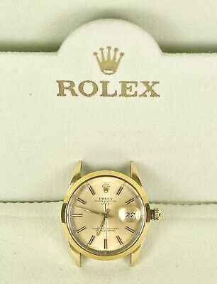$ CDN4039.06 • Buy Vintage Rolex Oyster Date W/Gold Shell 34mm Watch Reference 15505