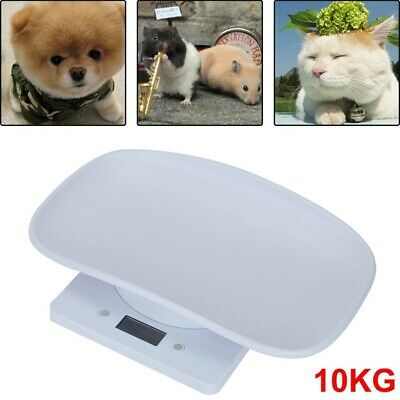 £16.86 • Buy 10KG Electronic Digital Weighing Scales Pet Dog Cat Kittens Puppies Scales UK