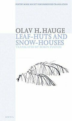 Leaf-huts And Snow-houses: Selected Poems New Paperback Book • 11.63£