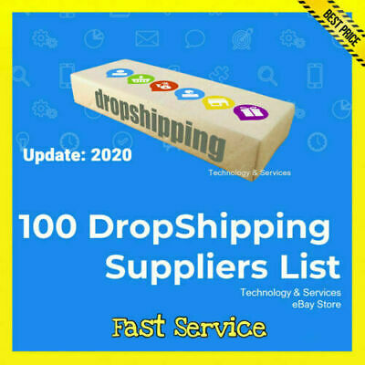 $0.99 • Buy 100 DropShipping Suppliers List ✅ $0.99 ✅ Drop Shipping✅ UPDATE 2020