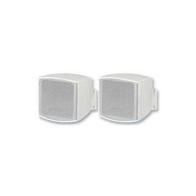 AU131.88 • Buy GA230310 EUL-26/WS Monacor Speaker Pair 2.5  100V/8 Ohm White