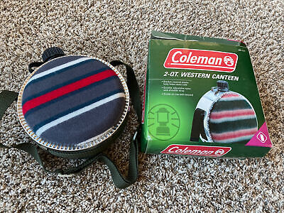 $ CDN24.91 • Buy COLEMAN CANTEEN 2 QT QUART WESTERN WOOL BLANKET COVER COUNTRY Opened Box