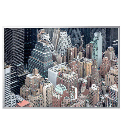 """Ikea Bjorksta Canvas. New York From Above. 55""""x78"""" With Aluminum Frame • 115.05£"""