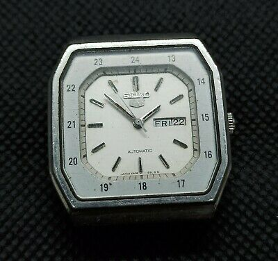 $ CDN18.97 • Buy Vintage Seiko 5 Automatic For Part Movement No.2906-5450 Japan Made Men's Watch.