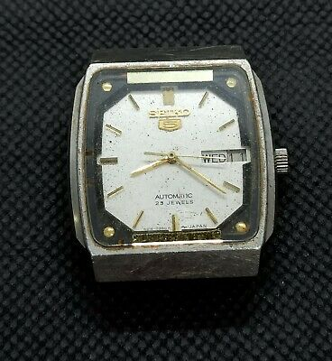 $ CDN18.97 • Buy Vintage Seiko 5 Automatic For Part Movement No.4219-5300 Japan Made Men's Watch.