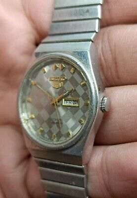 $ CDN18.97 • Buy Vintage Seiko 5 Automatic For Part Movement No.4206-0551 Japan Made Men's Watch.