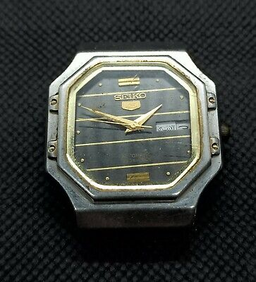 $ CDN18.97 • Buy Vintage Seiko 5 Automatic For Part Movement No.4219-5010 Japan Made Men's Watch.