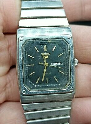 $ CDN18.97 • Buy Vintage Seiko 5 Automatic For Part Movement No.2906-5534 Japan Made Men's Watch.