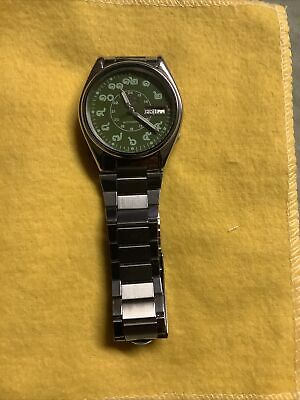 $ CDN114.35 • Buy Seiko 5 Automatic Green Face Thai Numbers Vintage Watch