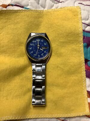 $ CDN114.35 • Buy Seiko 5 Automatic Blue Face Thai Numbers Vintage Watch