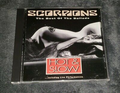 £14.62 • Buy SCORPIONS Cd HOT AND SLOW THE BEST OF THE BALLADS Free US Shipping
