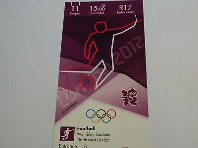 £9.99 • Buy London 2012 Olympic Games FOOTBALL Ticket 11th Aug GOLD MEDAL MATCH CAT A !