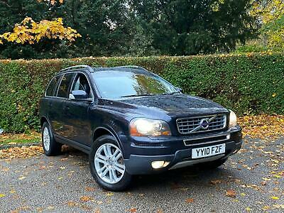 2010 VOLVO XC90 2.4 D5 SE GEARTRONIC 4WD 7 SEATER ESTATE • 5,389£