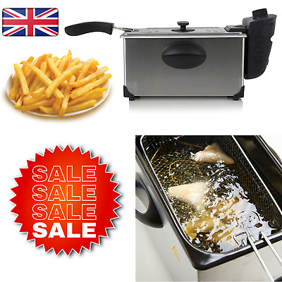£26.63 • Buy 3L Electric Home Pro Deep Fat Fryer - 2.95kg,Stainless Steel For Chips And Fries