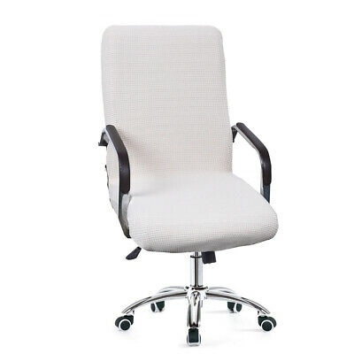 AU27.37 • Buy Universal Stretchable Computer Office Chair Cover Swivel Chair Seat Cover New