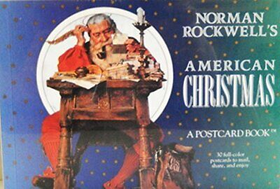 $ CDN25.45 • Buy Norman Rockwell's American Christmas: A Postcard Book (Postcard Books) By Nor…