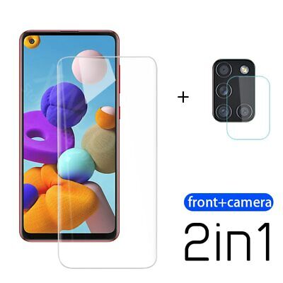 £4.69 • Buy For Samsung A 21 S 2-in-1 Screen Protector For Samsung Galaxy A21S A21 Camera