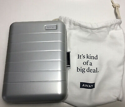 $ CDN75.38 • Buy Away Travel The Mini Luggage Silver Aluminum Organizer *new*
