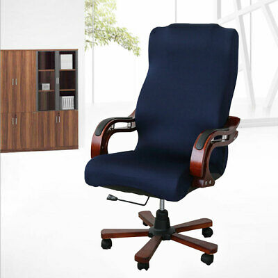 AU30.69 • Buy Stretch Computer Office Chair Covers Slipcovers Desk Rotat Seat Cover Protector