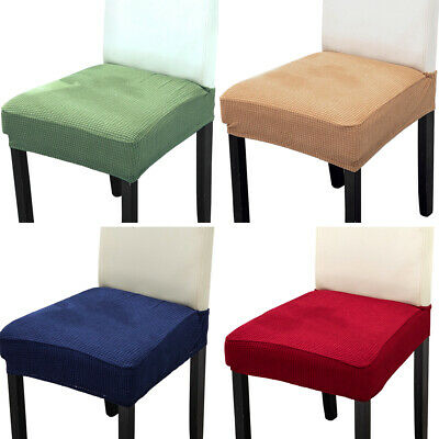 AU21.06 • Buy Stretch Jacquard Removable Washable Protector Dining Room Home Chair Seat Covers