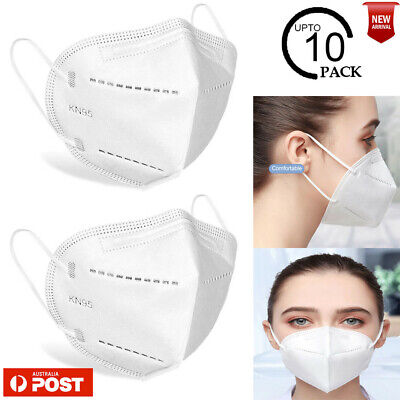 AU12.87 • Buy Medical Surgical Protective Face N95 KN95 Approved Mask Reusable 10 Pack AU