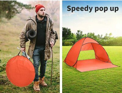 AU27 • Buy Mountview Popup Tent Easy Setup 2 Person Beach Camping Portable Tent